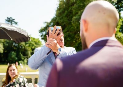 Hypnosis by Dorset Wedding Magician Chris Piercy at Radipole Manor, Weymouth, Dorset.
