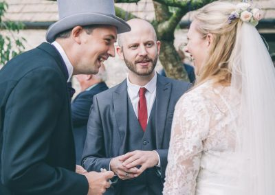 Chris Piercy Magic - Dorset Wedding Magician Kingston Country Courtyard Lucy and Ben
