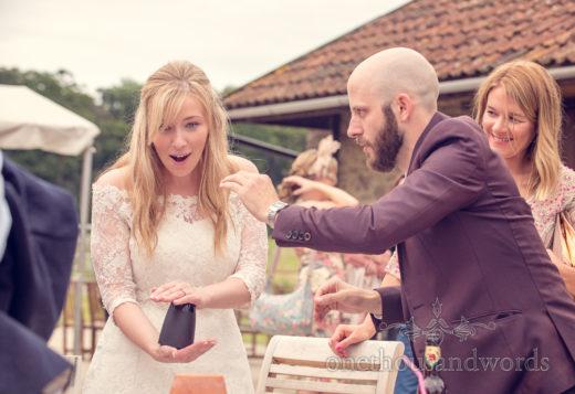 Wedding Magician in Dorset Chris Piercy