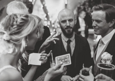 Chris Piercy Magic - Dorset Wedding Magician Joe and Isabella Wookey Wedding Couple