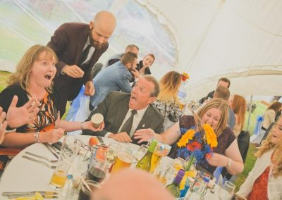 Chris Piercy Magic - Dorset Wedding Magician Marquee Table Magic