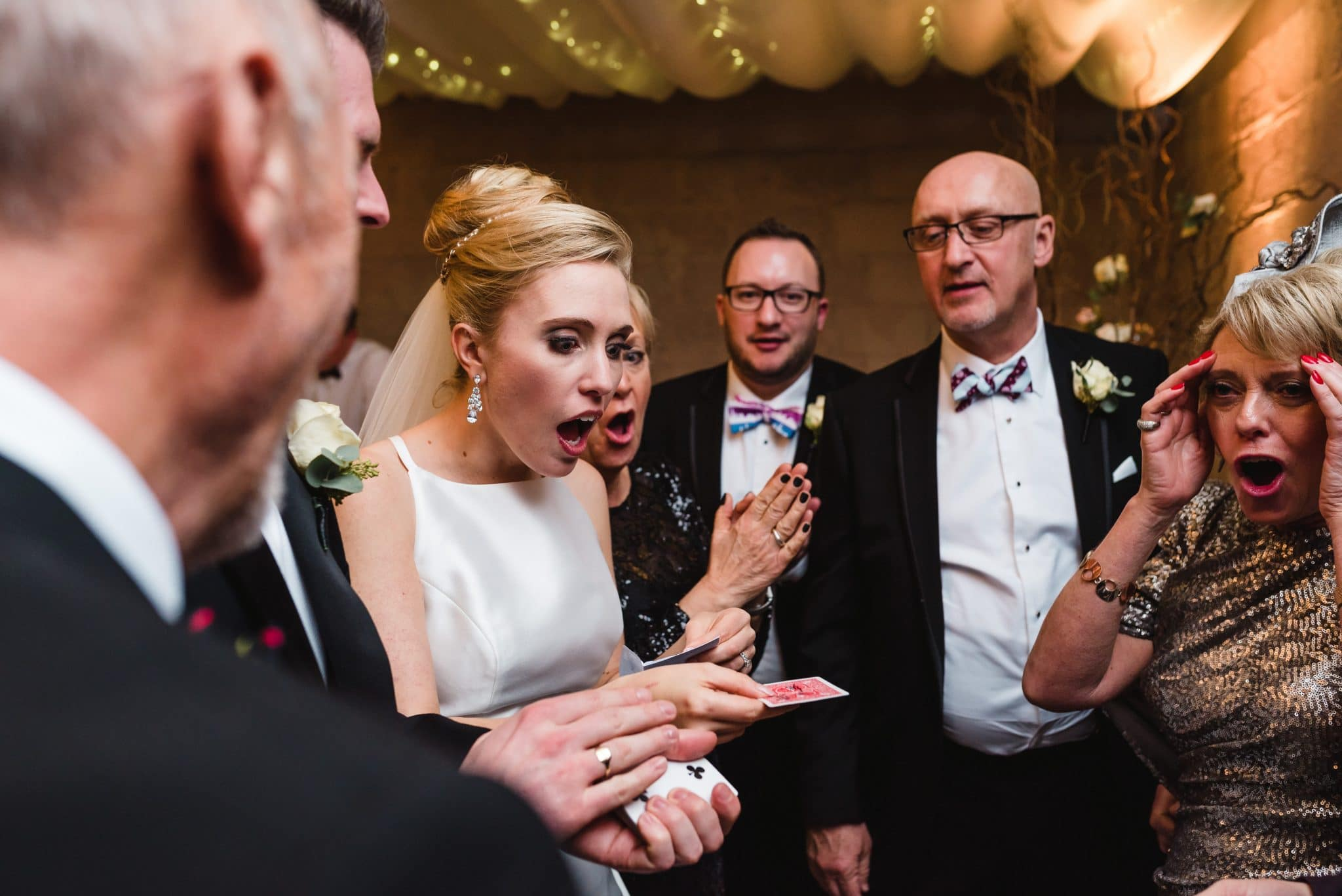 Wedding Magician Chris Piercy at Axnoller House