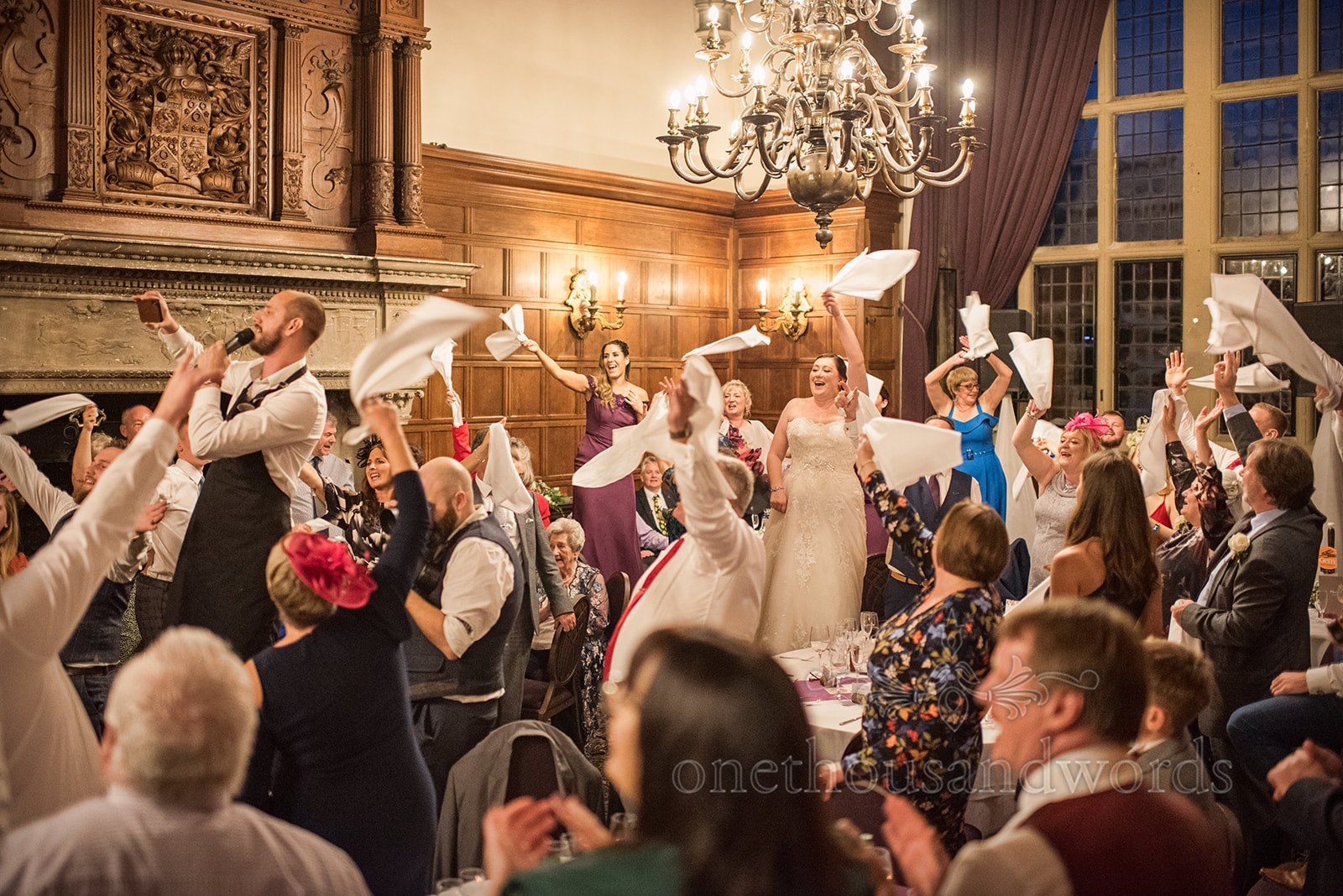 Singing Waiters whip up a storm at Rhinefield House - One Thousand Words Photography