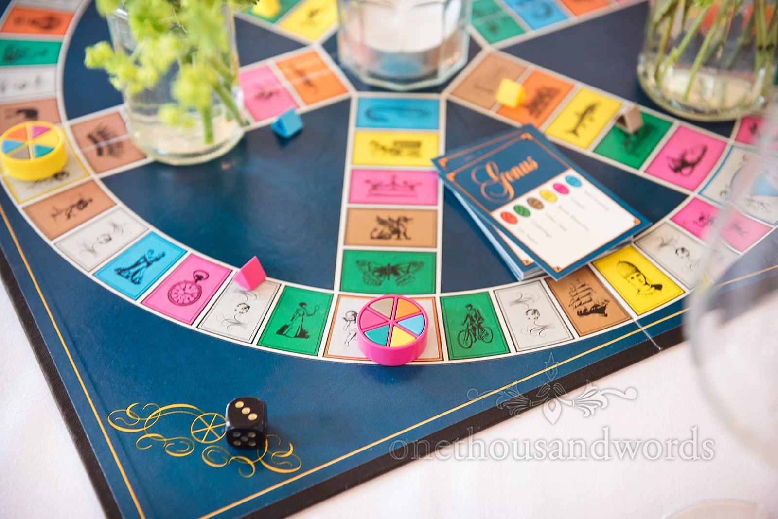 Trivial Pursuit at a Wedding Breakfast - One Thousand Words Photography